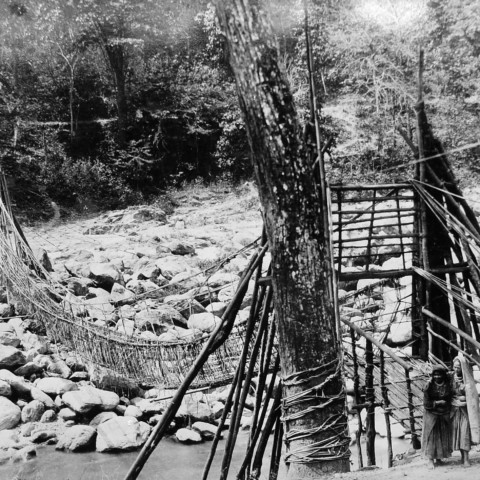 Bamboo Bridge at Bey